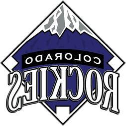 12 STICKERS  Colorado Rockies Baseball Vinyl Car Bumper Wind