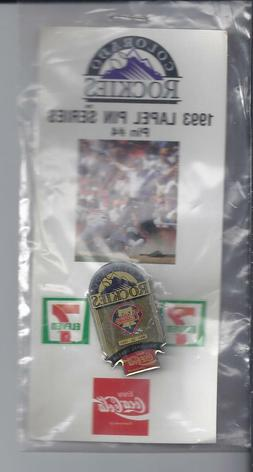 1993  Souvenir Lapel Hat Pin Colorado-Rockies Series pin #4