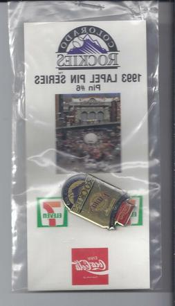 1993  Souvenir Lapel Hat Pin Colorado-Rockies Series pin #6