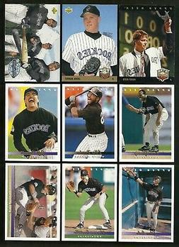 1993 Upper Deck Baseball Colorado Rockies Complete 28 Card T