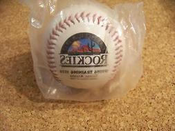 1998 Colorado Rockies Spring Training desert logo baseball b