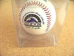 1999 Colorado Rockies baseball ball Rockies make run-scoring