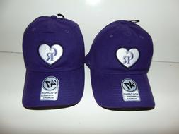 2) Colorado Rockies Purple '47 Clean Up Womens Adjustable Ha