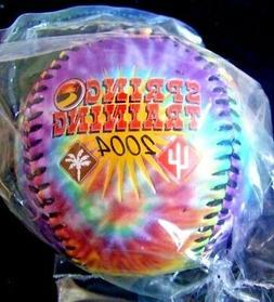 2004 Spring Training Cactus League Colorado Rockies tie dye
