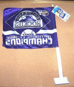 2007 Colorado Rockies National League Champs WS World Series