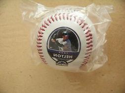 2007 Colorado Rockies Todd Helton photo baseball ball MLB