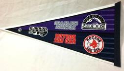2007 world series pennant boston red sox