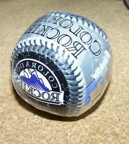 2008 Colorado Rockies Dinger mascot ball baseball softstrike