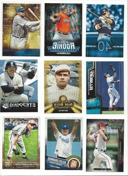 2015 TOPPS INSERTS - SERIES 1,2 & UPDATE - ALL LISTED - WHO