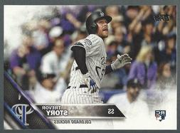 2016 Topps Update Trevor Story Rookie Card QTY US 226 Colora