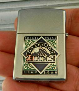 2018 New COLORADO ROCKIES ZIPPO LIGHTER Unfired with factory