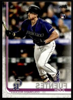 2019 Topps Update Base #US294 Josh Fuentes - Colorado Rockie