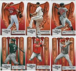 2019 Panini Leather & Lumber Baseball - Base Set Cards - Cho