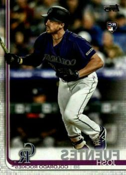 2019 Topps Update Base #US294 Josh Fuentes Colorado Rockies