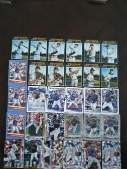 2020 Baseball Cards Colorado Rockies Lots 30 Nolan Arenado &
