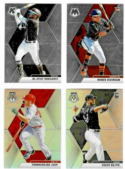2020 Panini Chronicles Baseball MOSAIC Base & Silver Prizms