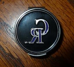 "Colorado Rockies 1"" MLB Golf Ball Marker 2 Sided Ball Marker"