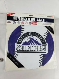 "Colorado Rockies 11"" team magnet for car, home or office Bas"