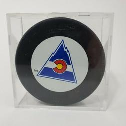 Colorado Rockies 1976-1982 NHL Nostalgia Puck Defunct Team 2