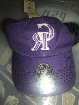 Colorado Rockies 47 Brand Closer Taylor Flex Fit Mesh Hat Ca