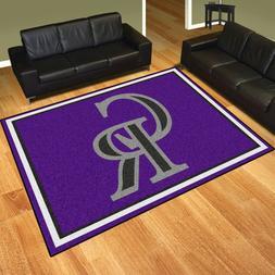 Colorado Rockies 8' X 10' Decorative Ultra Plush Carpet Area
