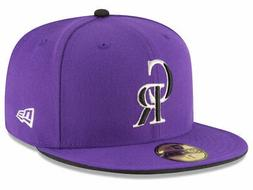 New Era Colorado Rockies ALT 2 59Fifty Fitted Hat  MLB Cap