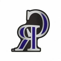 "COLORADO ROCKIES AUTO BADGE CAR DECAL EMBLEM 3""×5"" SHARP!"
