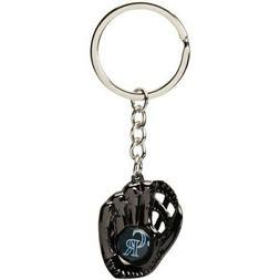 Colorado Rockies Baseball Glove Team Keychain