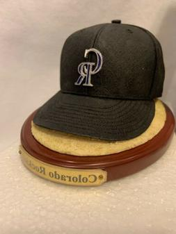 Colorado Rockies Baseball Hat The  Memory Company Table Top