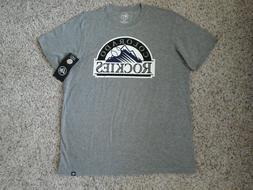 Colorado Rockies Baseball 47BRAND Men's Sized Shirt