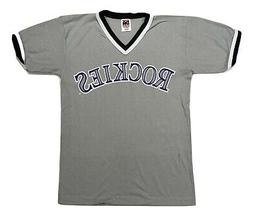 Colorado Rockies Baseball Womens Jersey Licensed Sizes New M