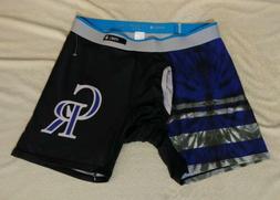 colorado rockies boxer briefs underwear size large