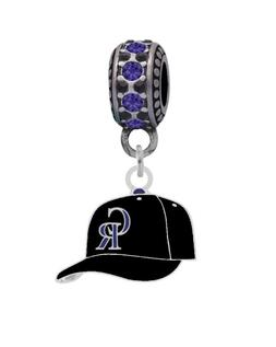 Colorado Rockies Cap Charm