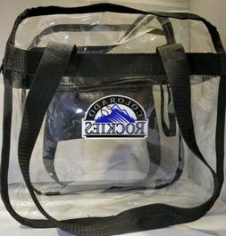 Colorado Rockies Clear Tote Bag