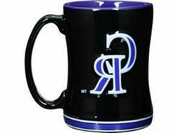 COLORADO ROCKIES Coffee Mug - 14oz Sculpted Relief NEW