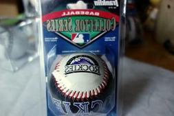 Colorado ROCKIES Collector Series Baseball Franklin w/Case N