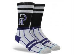 Colorado Rockies CR Stance MLB Diamond Collection Socks Men'