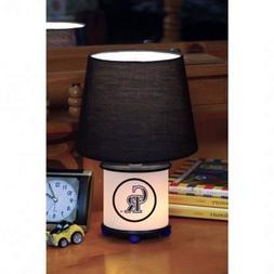 "Colorado Rockies Dual Light table Lamp Man Fan Cave  8"" MLB"