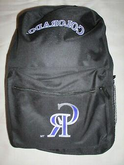 **COLORADO ROCKIES Full Size Adjustable BACKPACK #02 - New w