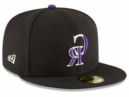 New Era Colorado Rockies GAME 59Fifty Fitted Hat  MLB Cap