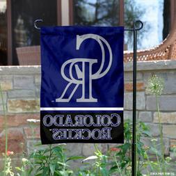 Colorado Rockies Garden Flag and Yard Banner