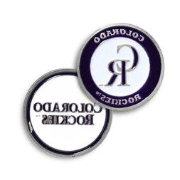 Colorado Rockies Golf Ball Marker Enamel Metal Team Logo 2 S