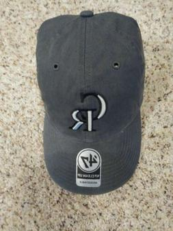 Colorado Rockies Gray 47 Brand Adjustable Clean Up Hat