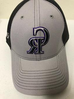 New Era Colorado Rockies Gray Grayed Out Neo 39THIRTY Flex H