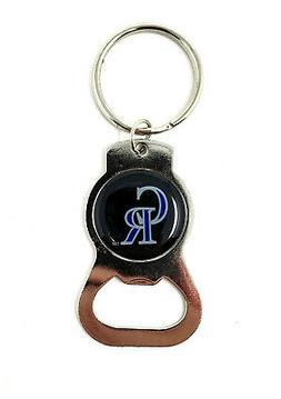 Colorado Rockies Key Chain MLB Baseball