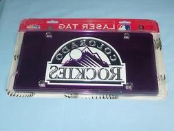 Colorado Rockies  LASER TAG  durable Acryllic Mirror INDOOR/