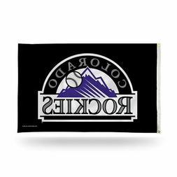 colorado rockies mlb 3x5 indoor outdoor banner