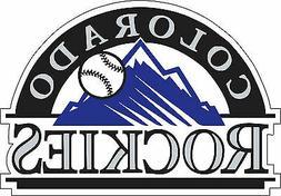 Colorado Rockies MLB Baseball Bumper sticker, wall decor vin