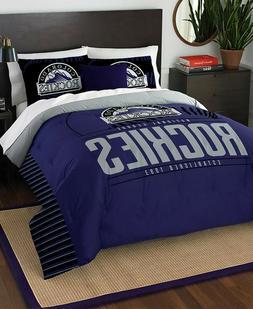 colorado rockies mlb baseball twin size bed