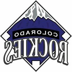 Colorado Rockies MLB Color Die-Cut Decal / Sticker *Free Shi